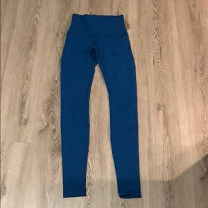 Lululemon Highwaisted 31' Blue Wonder Under Tight
